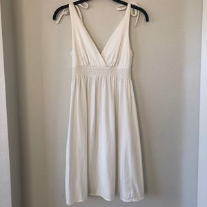 American Eagle self tie sleeveless dress size xs